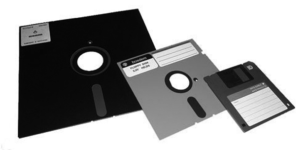 Old-floppy-disks